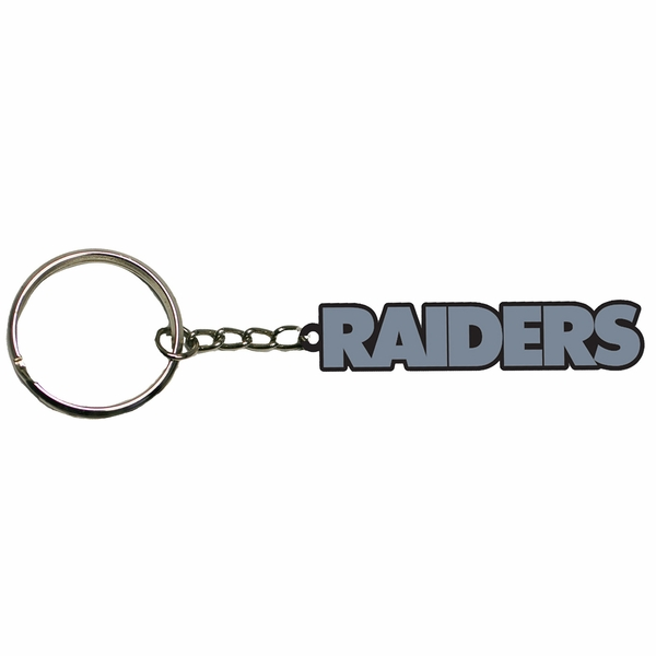 Raiders Wordmark Keychain