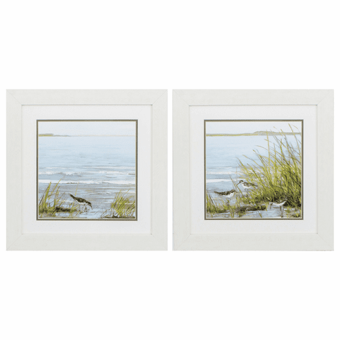Afternoon On Shore - Set of 2