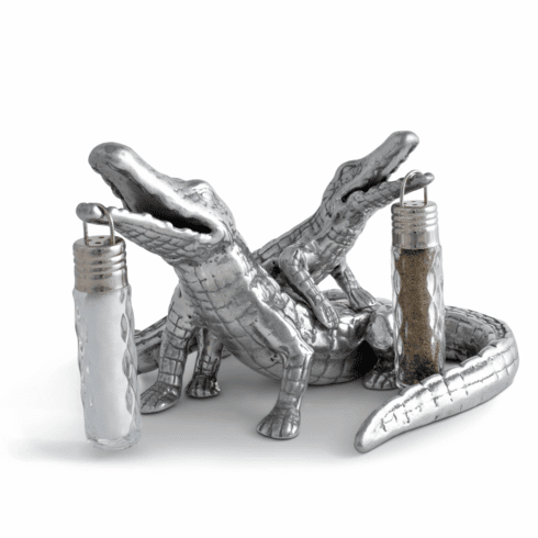 Alligator Salt & Pepper Set