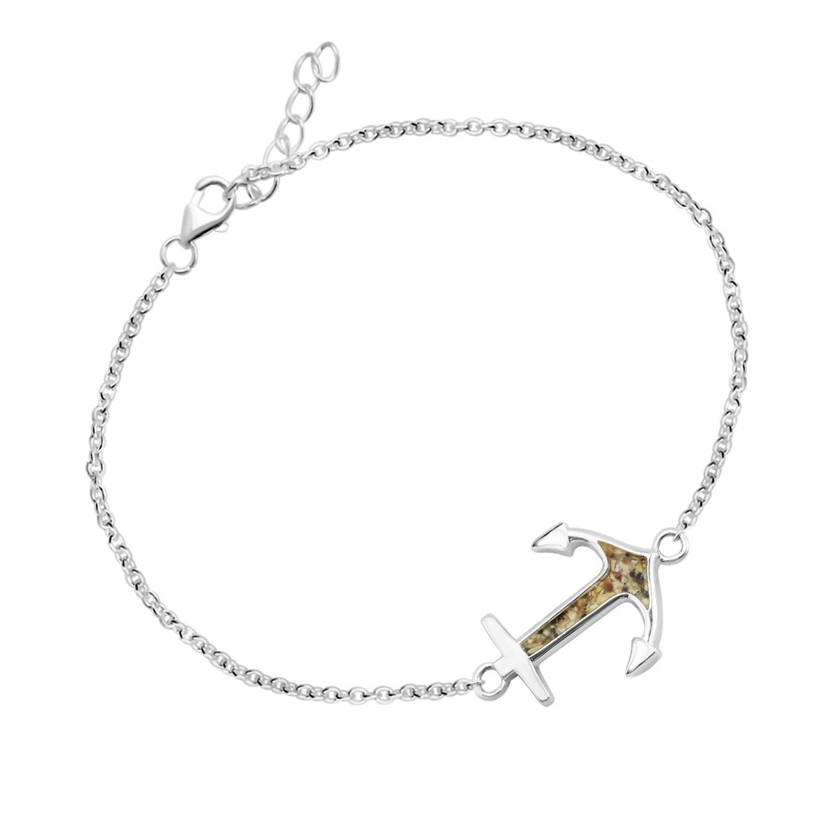 Anchor Chain Bracelet - Click to enlarge