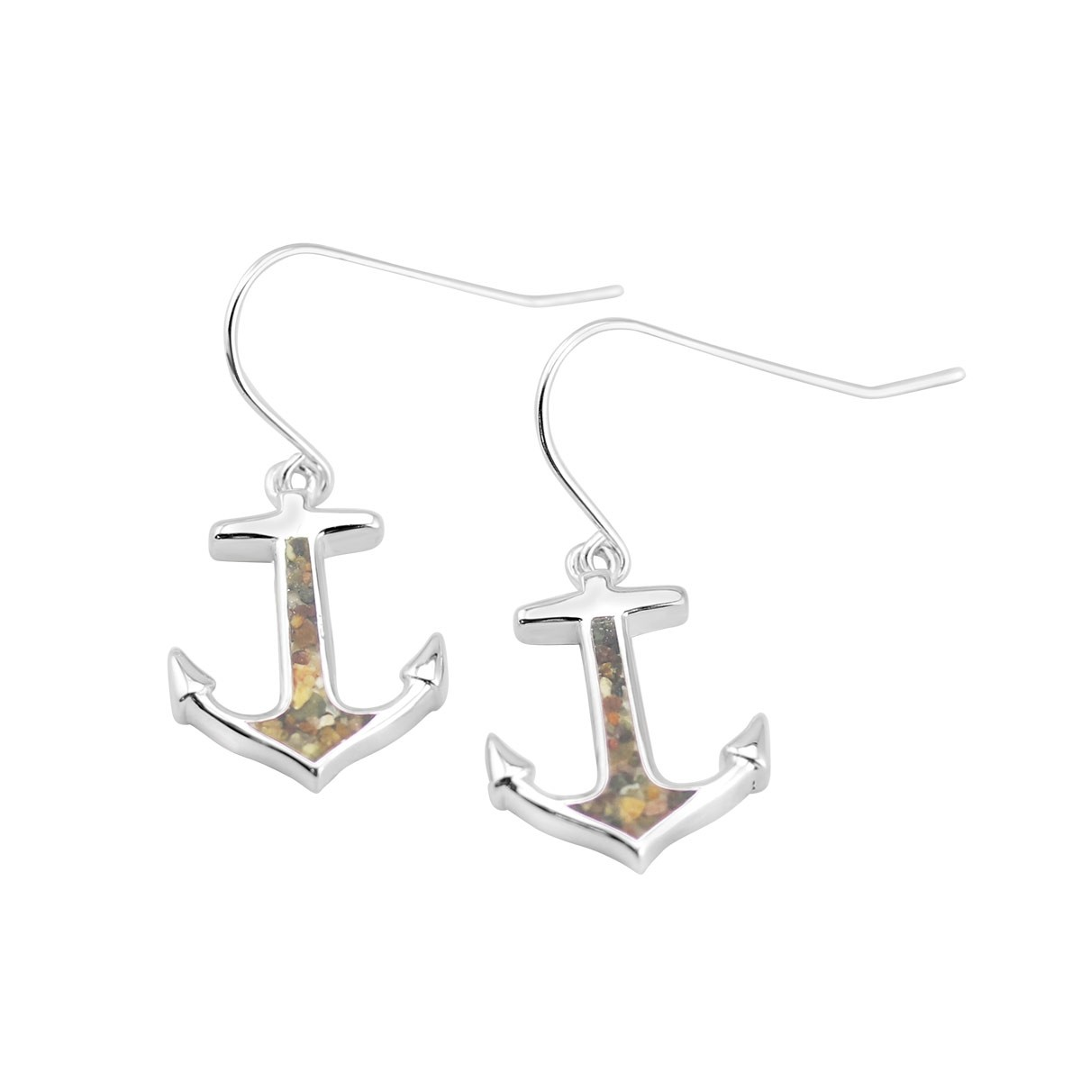 Anchor Drop Earrings - Click to enlarge