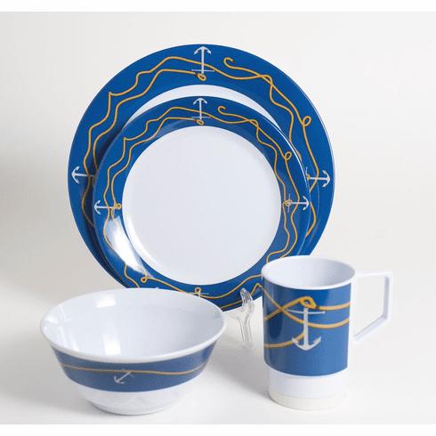 Anchorline Melamine Dinnerware
