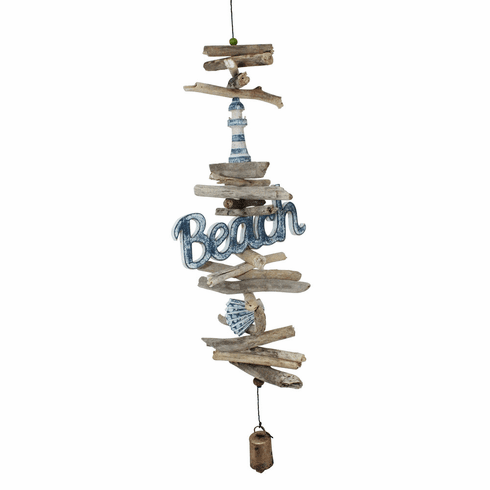 Beach Logo Cohasset Bell Wind Chime