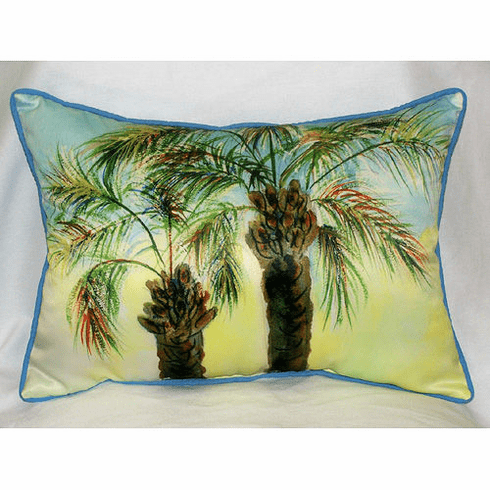 Betsy's Palm Indoor and Outdoor Pillow