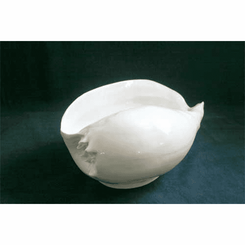 Beyond Jordan <br >  Porcelain Baler Shell Serving Bowl