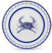 Blue Crab Charger - set of 4