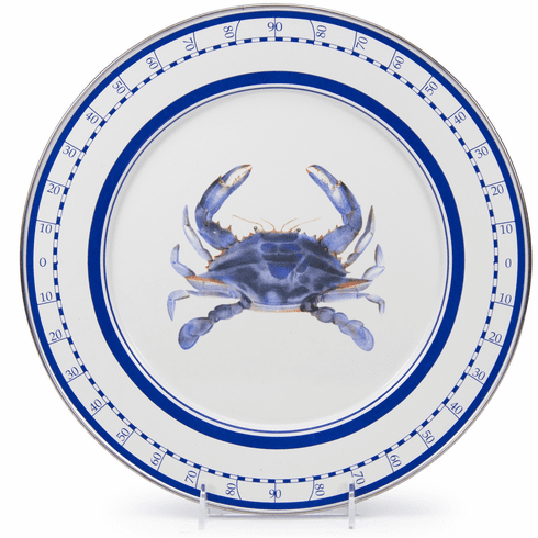 Blue Crab Charger - set of 2