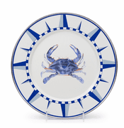 Blue Crab Dinner Plate - set of 4