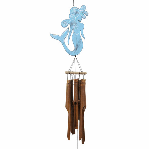 Blue Mermaid Wind Chime