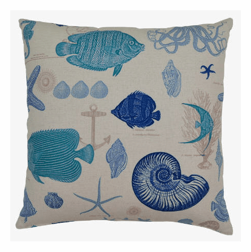 By The Sea Pillow - set of 2