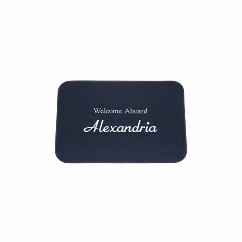 Cape Hatteras Marine Personalized Small Boat Mat