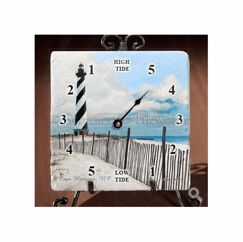 Cape  Hatteras North Lighthouse Tide Clock