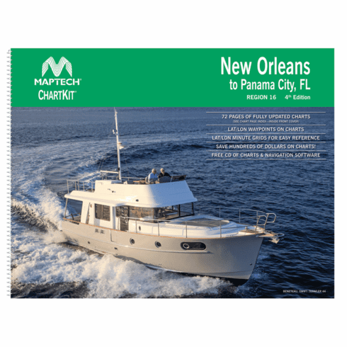 ChartKit�Region 16, 4th Ed. - New Orleans to Panama City, FL