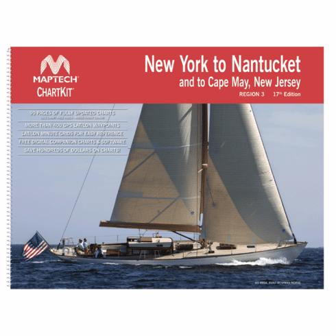 ChartKit�Region 3, 17th Ed. - New York to Nantucket and to Cape May, New Jersey