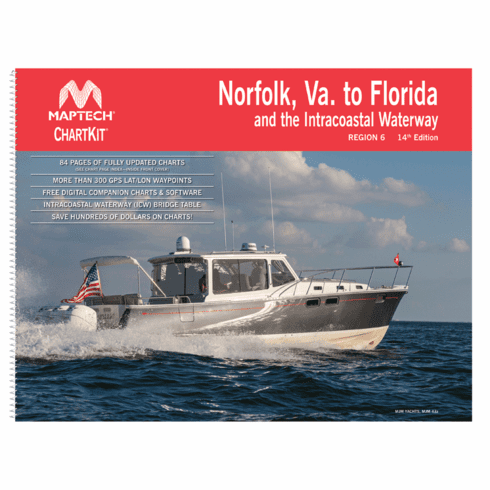 ChartKit�Region 6, 14th Ed. - Norfolk, Va. to Florida and the Intracoastal Waterway
