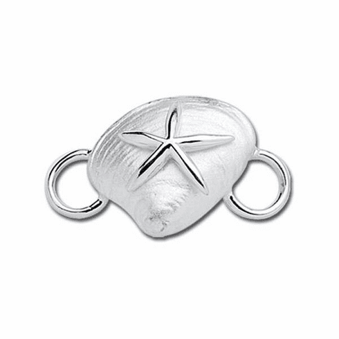 Clam Shell with Starfish Convertible Clasp