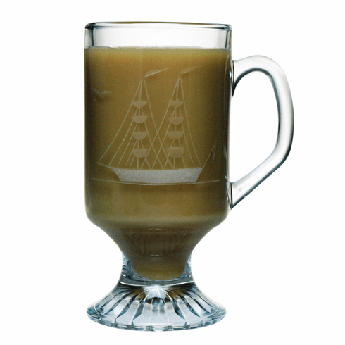 Clipper Ship Footed Mugs