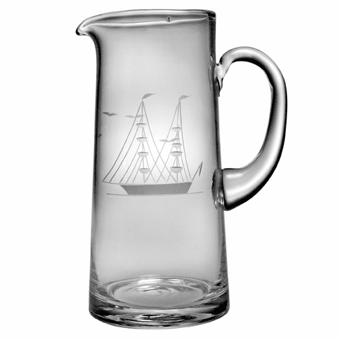 Clipper Ship Tankard Pitcher