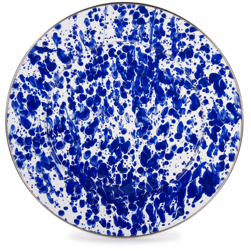 Cobalt Swirl Charger - set of 2