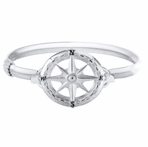 Compass Rose Convertible Clasp - Click to enlarge