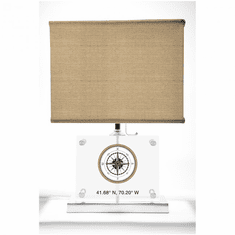 Compass Rose Lamp
