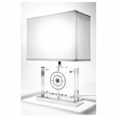 Compass Rose Table Lamp