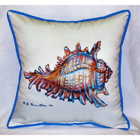 Conch Indoor and Outdoor Pillow