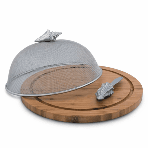 Conch Shell 3 Piece Picnic Cheese Board