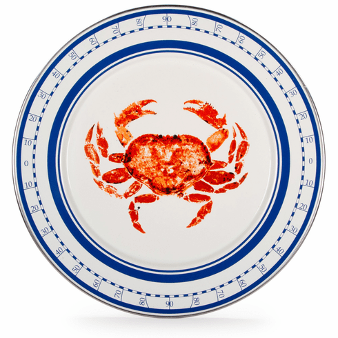 Crab House Charger - set of 2