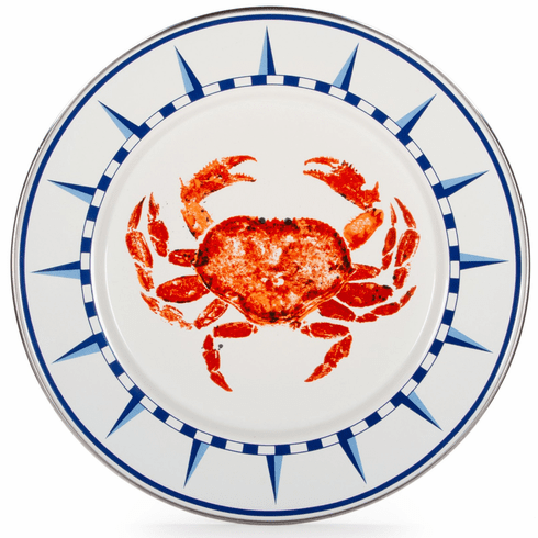 Crab House Dinner Plate - set of 4
