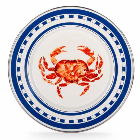 Crab House Sandwich Plate - set of 4