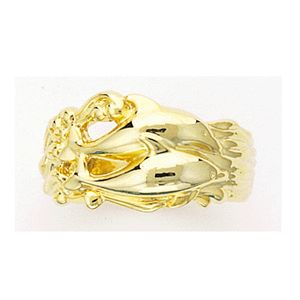 Dolphin In Waves Ring