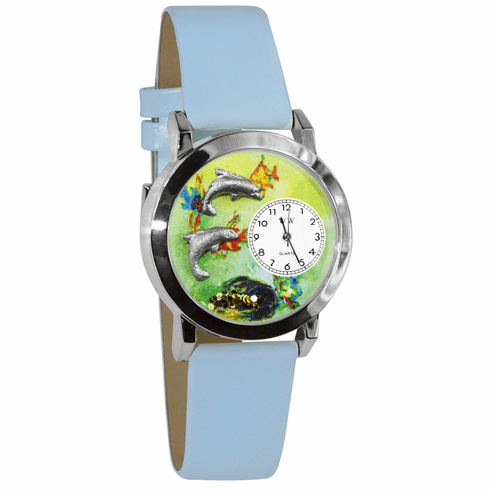 Dolphins Silver  Watch