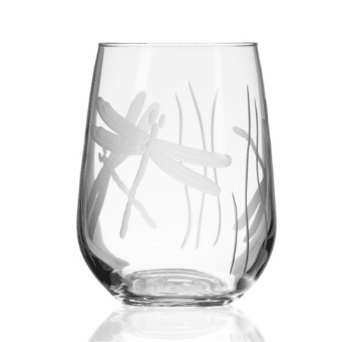 Dragonfly Stemless Wine Tumblers