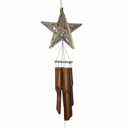 Driftwood Star Wind Chime