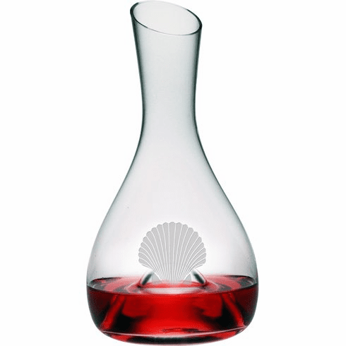 Fan Shell Punted Carafe