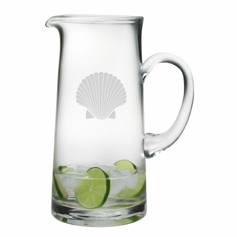Fan Shell Tankard Pitcher