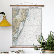 Fenwick to Chincoteague Nautical Chart