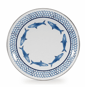 Fish Camp Dinner Plate - set of 4