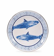 Fish Camp Sandwich Plate - set of 4