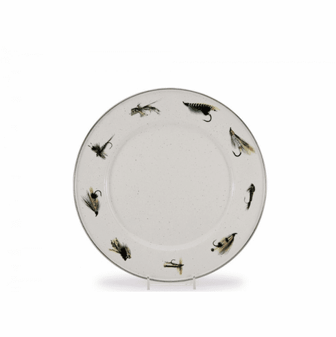 Fishing Fly Dinner Plate - set of 4