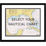 Framed Nautical Chart