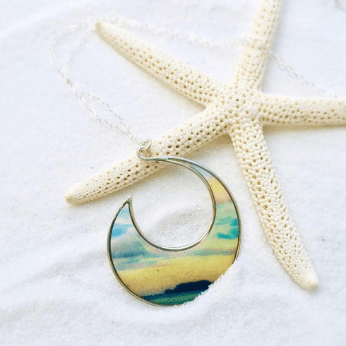 Go Ahead Make Waves Necklace