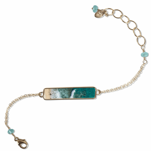 Good Things Come In Waves Bracelet