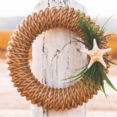 Hampton Manila Rope Wreath