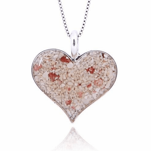 Heart of Sand Necklace with Chain