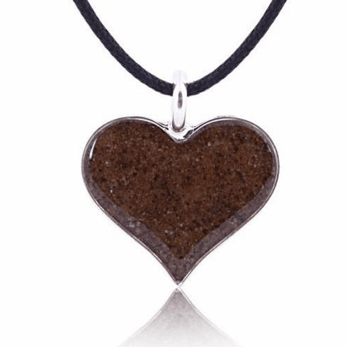 Heart of Sand Necklace with Cord