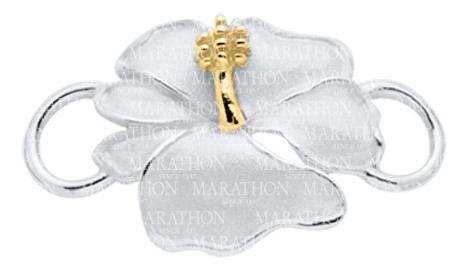 Hibiscus Convertible Clasp - Click to enlarge
