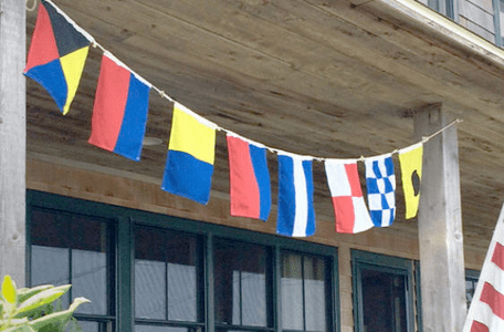Indoor Outdoor Nautical Flags