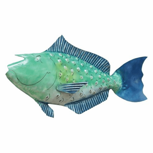 Juvenile Bluespine Unicorn Fish Sculpture